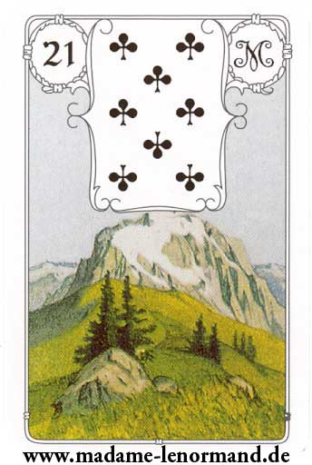 Lenormand karte - Planina/Tref 8