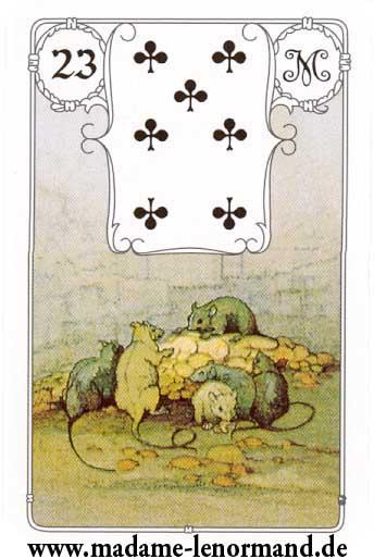 Značenja karata - Miševi