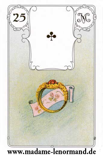 Lenormand karte - Prsten / As tref