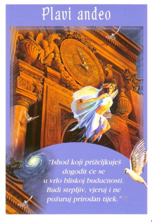 Andeoske poruke - Plavi anđeo