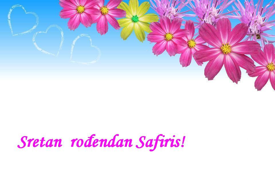 Sretan rođendan Safiris!