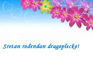 Sretan rođendan Drago Plečko!