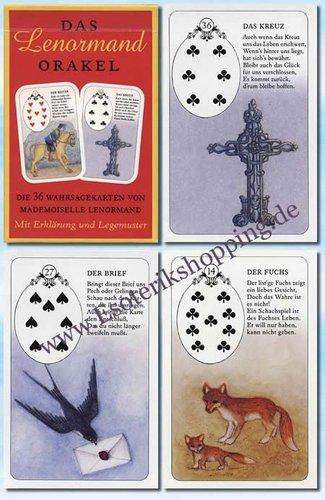 Vrste karata za proricanje: Petit LeNormand Iris Verlag