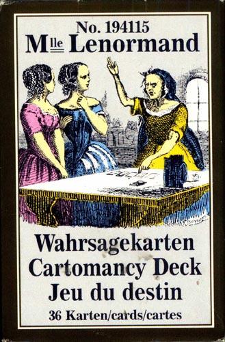 Vrste karata za proricanje: Petit LeNormand Pianik Vienna