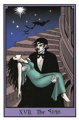 Vrste karata za proricanje: Vampire Tarot
