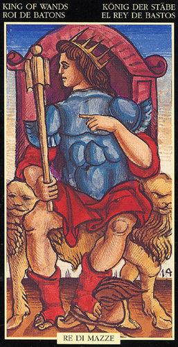 Vrste karata za proricanje: Sola-Busca Tarot