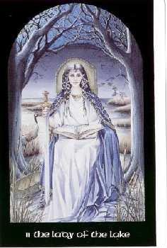 Vrste karata za proricanje:Arthurian Tarot - Hallowquest