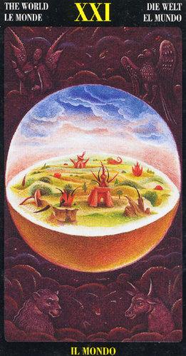 Vrste karata za proricanje: Bosch Tarot