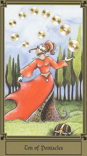 Vrste karata za proricanje: Fantastical Tarot