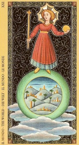 Vrste karata za proricanje: Golden Tarot of the Renaissance