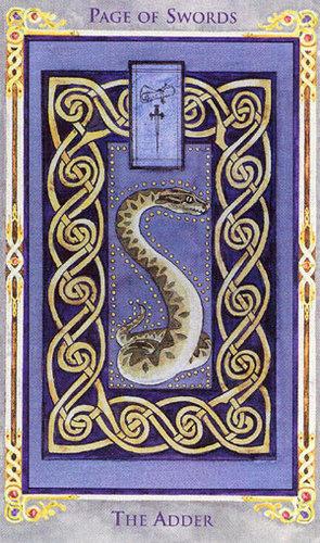 Vrste karata za proricanje:Legend: The Arthurian Tarot