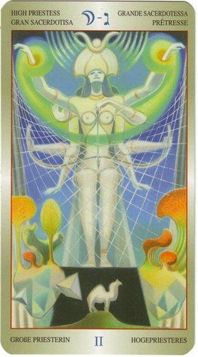 Vrste karata za proricanje: Liber T Tarot of Stars Eternal - Medium