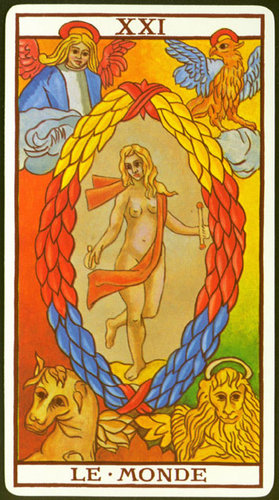 Vrste karata za proricanje: Tarot de Marseille Fournier