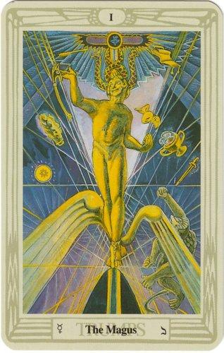Vrste karata za proricanje: Thoth Tarot - Medium