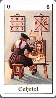 Vrste karata za proricanje: Tarot Cabalistique