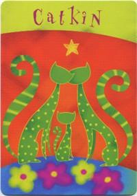 Vrste karata za proricanje: Cat Comfort Cards