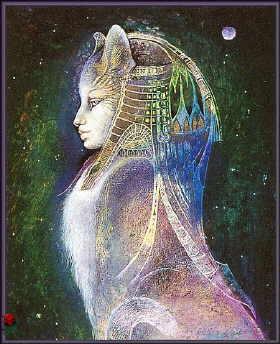Vrste karata za proricanje: Goddess Knowledge Cards