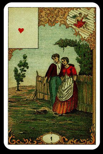 Vrste karata za proricanje: Jeu du Destin Antique