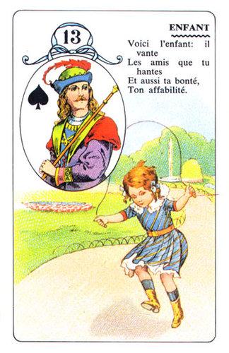 Vrste karata za proricanje: Petit LeNormand Jeu LeNormand