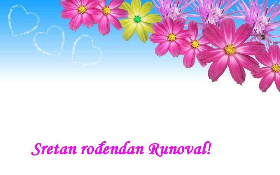 Sretan rođendan Runoval!