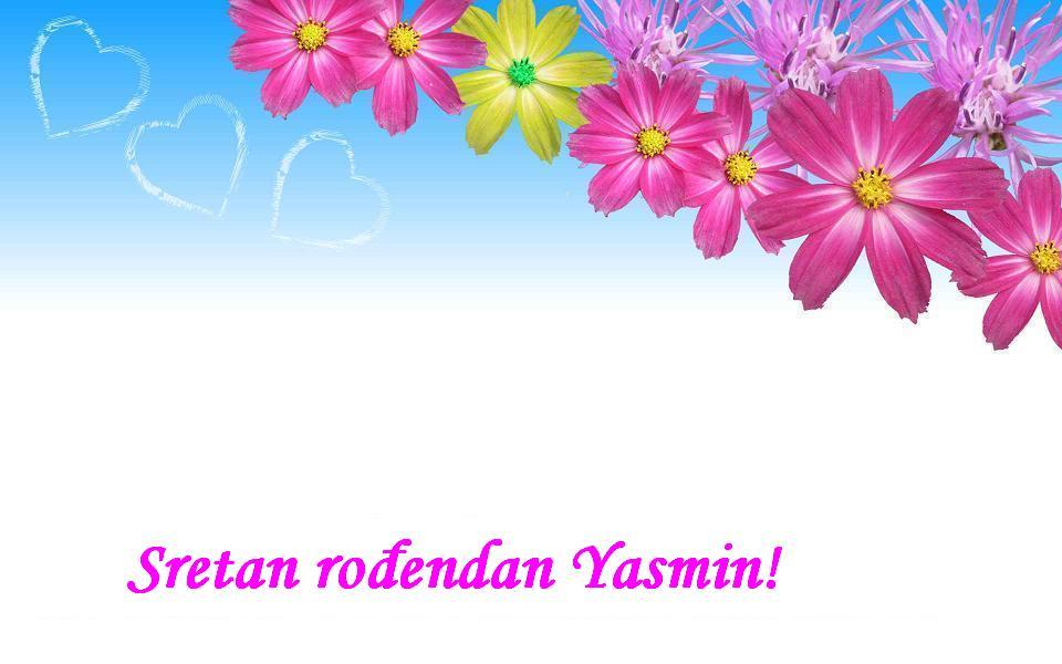 Sretan rođendan Yasmin!
