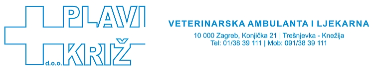 Plavi križ - veterinarska ambulanta