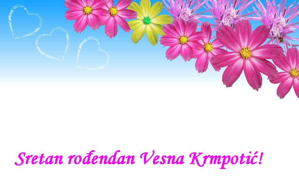 Sretan rođendan Vesna Krmpotić!