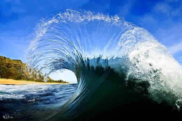 Fantasticne snimke valova - Fantastic pictures of waves by  Clark Little