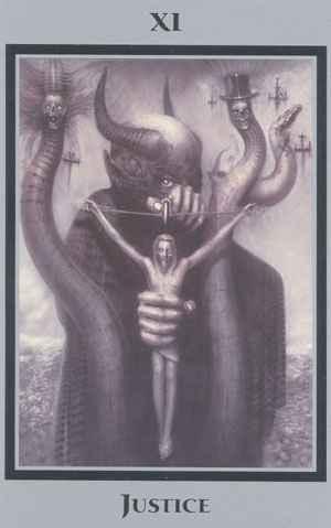 Vrste karata za proricanje: Baphomet: Tarot of the Underworld