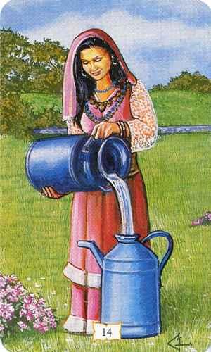 Vrste karata za proricanje: Buckland Romani Tarot