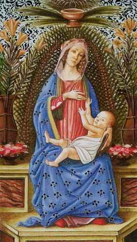 Vrste karata za proricanje: Golden Tarot of Botticelli