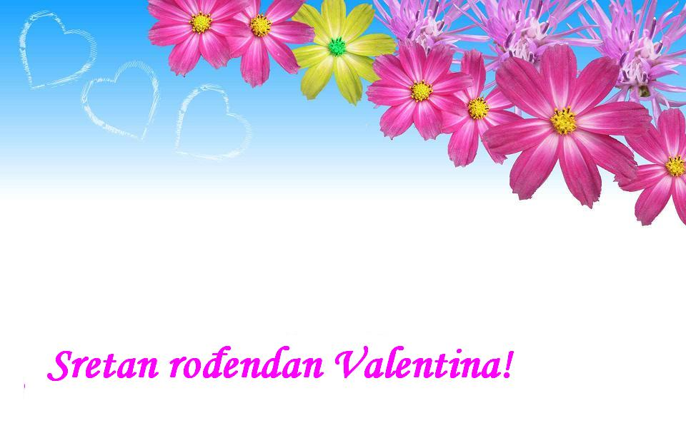 Sretan rođendan Valentina!