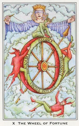 Vrste karata za proricanje: Medieval Enchantment Tarot