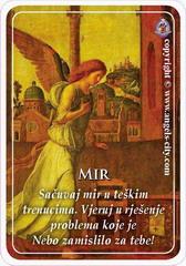 Anđeoska kartica 09.10.