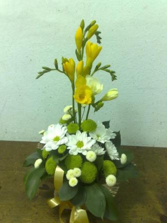 Ikebana i krizanteme