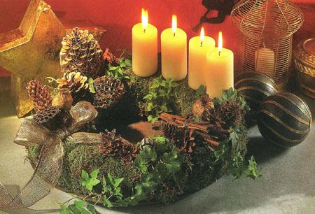 Božićni blog - za blagdane bez stresa: Izrada adventskog vijenca