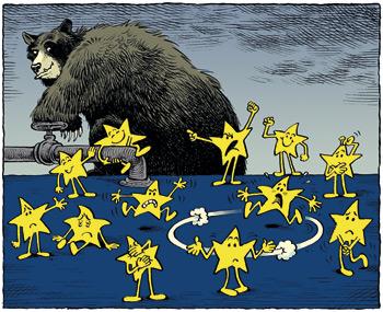 Zapad kroz EU pljačka istočnu Europu