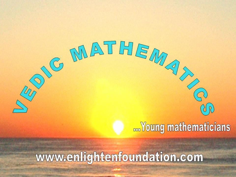 Vedska matematika