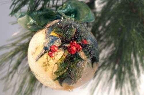 Božićni ukrasi - SWAROVSKI SVJETLUCAVE KUGLICE