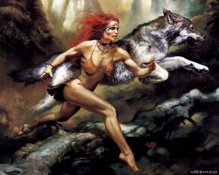 Žene koje trče sa vukovima