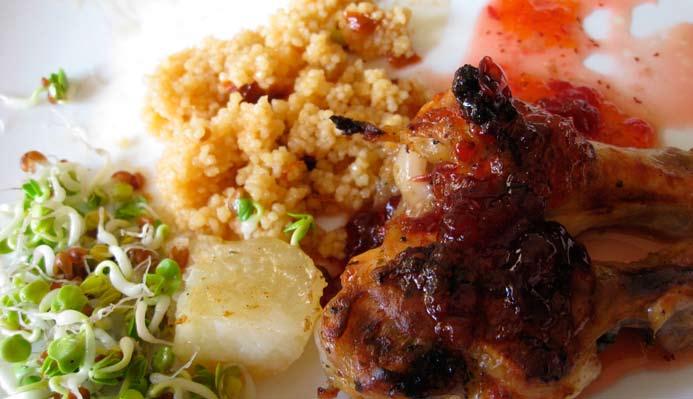 Egzotična piletina s kuskusom - Nino Magić