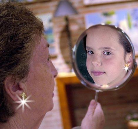 Zrcalo duše.