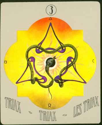 Deva Tarot - Objašnjenja Triaxa 3