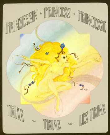 Deva Tarot - Dvorske karte Triaxa: Princeza Triaxa