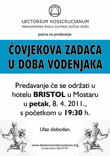 Javno predavanje u Mostaru