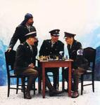 Ausstellung Laibach Kunst 1980. - 2011. Ceci N'est Pas Malevitch u Domu hrvatskih likovnih umjetnika u Zagrebu.