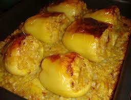 Vegetarijanska kuhinja - Paprike punjene povrćem