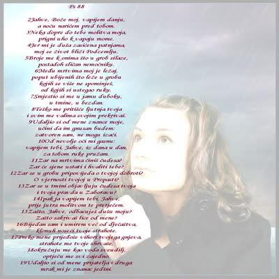 Psalm ljubavi...