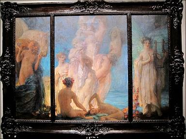VJEČNA ŽENA (meditacije uz slike R.Auera)