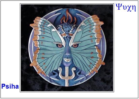 Psiha – u početku ljubavnica Erosa – boga ljubavi